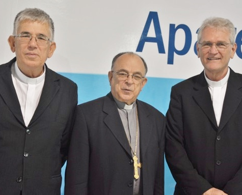 Dom José Belisário, Cardeal Raymundo Damasceno e Dom Leonardo Steiner / Foto: CNBB
