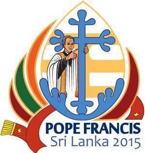 Logotipo da Visita do Papa ao Sri Lanka