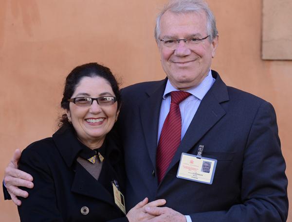 Hermelinda e Arturo participam do Sínodo da Família / Foto: © Sabrina Fusco