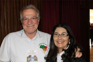 Hermelinda e Arturo são o único casal brasileiro que participará do Sínodo sobre a Família / Foto: Arquivo pessoal