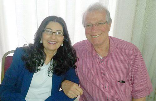 Hermelinda e Arturo Zamperline, coordenadores nacionais das Equipes de Nossa Senhora / Foto: Arquivo pessoal