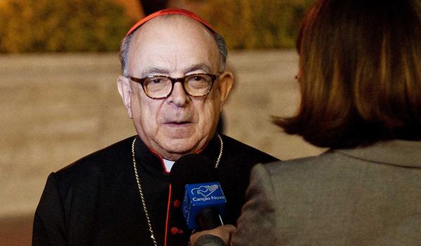 Cardeal Raymundo Damasceno, um dos presidentes delegados do Sínodo / Foto: © Massimiliano Migliorato