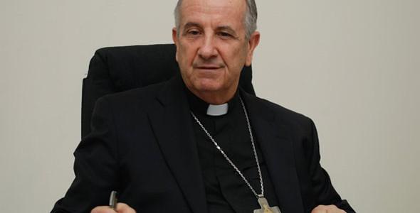 """""""Nenhum homem e nenhuma mulher têm a capacidade de responder a esse desejo de felicidade que é despertado no coração humano"""", afirma dom Petrini / Foto: Diocese de Camaçari"""