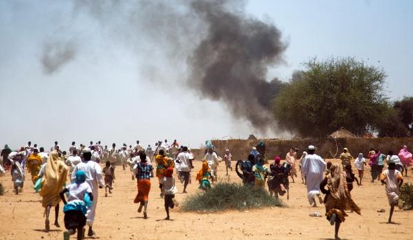 Em áreas de conflitos, muitas famílias são obrigadas a deixarem tudo / Foto: Fundação AIS