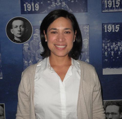 Maria Elena Vilches, coodenadora da equipe de comunicação / Foto: Angela Cabel