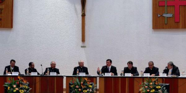Bispos mexicanos pedem o fim da violência no país na 98ª Assembleia Plenária da Conferência Episcopal do México / Foto: A12