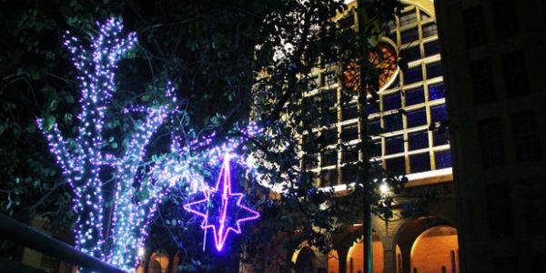 Natal Iluminado no Santuário Nacional de Aparecida / Foto: A12