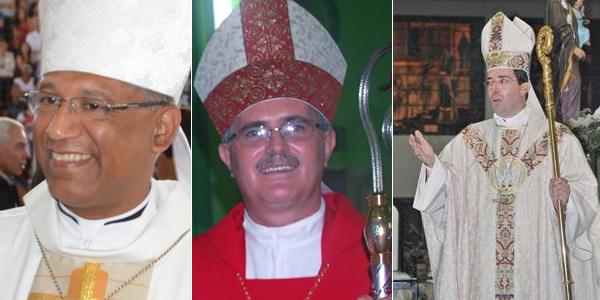 Dom Zanoni Demettino Castro, Dom Odelir José Magri e Dom Waldemar Passini Dalbello