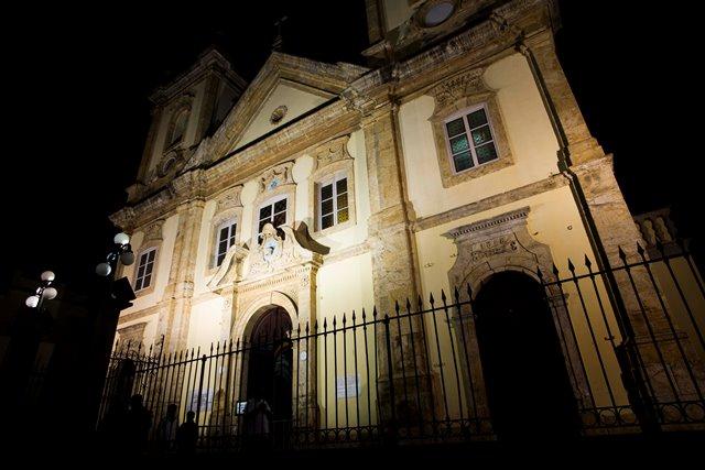 Fachada da matriz Basílica de Nossa Senhora Aparecida, conhecida como Basílica velha / Foto: Thiago Leon - A12