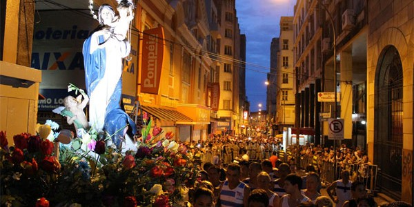Procissão de Nossa Senhora dos Navegantes reúne fiéis no Rio Grande do Sul / Foto: Arquidiocese de Porto Alegre