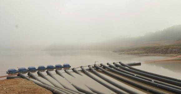 Chuvas elevam o nível do Cantareira para 10% nesta sexta-feira / Foto: Sabesp