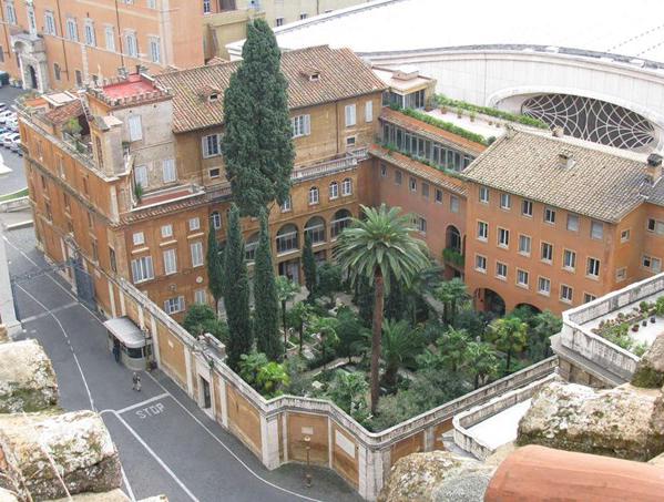 Vista do Campo Santo Teutônico, no Vaticano / Foto: Rádio Vaticano