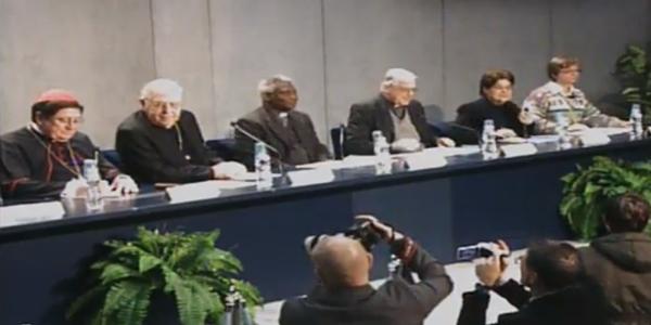 Coletiva no Vaticano informa aos jornalistas sobre o dia de oração contra o tráfico humano / Foto: Reprodução CTV