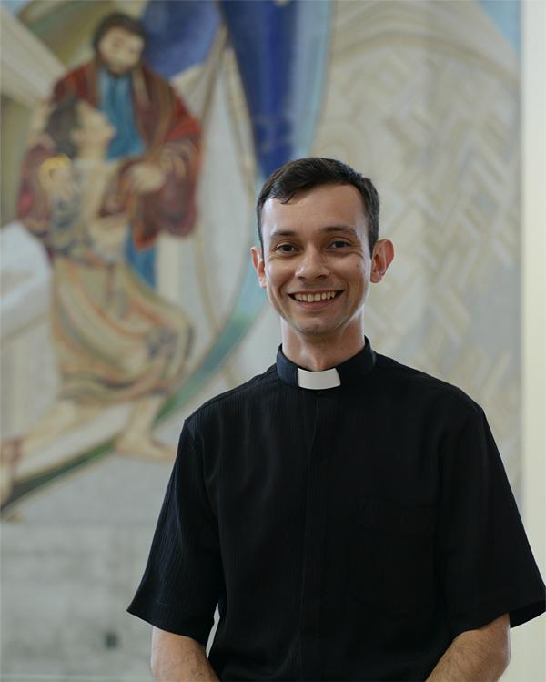 Padre Márcio José do Prado, vice-reitor do Santuário do Pai das Misericórdias / Foto: Canção Nova