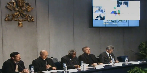 Coletiva no Vaticano falou sobre a Repam / Foto: Reprodução CTV