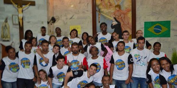Jovens da paróquia Nossa Senhora Aparecida em Guaratiba, no Rio de Janeiro, se preparam para a Jornada Diocesana da Juventude / Foto: Igor Rodrigues - Divulgação
