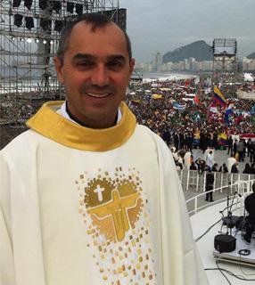 Padre Antonio Ramos, assessor da Comissão Episcopal Pastoral para a Juventude da CNBB / Foto: Jovens Conectados