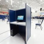 15 urnas eletronicas auxiliaram bispos em votacao
