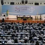 Confira a programação do quarto dia da Assembleia Geral