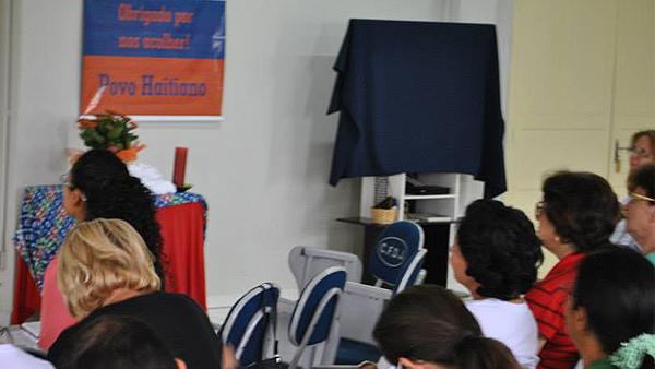 """Seminário Regional das Pastorais Sociais de 2015 com a temática das """"Migrações em Santa Catarina"""", assessorado por irmã Rosita Milesi / Foto: Pastorais Sociais SC"""