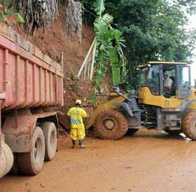 Temporal causou deslizamentos de terra em Salvador (BA) / Foto: Prefeitura de Salvador