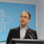 Dom Sergio faz um resumo dos trabalhos dos bispos em Aparecida