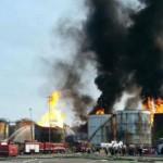 Prefeitura prevê para hoje fim do incêndio em Santos