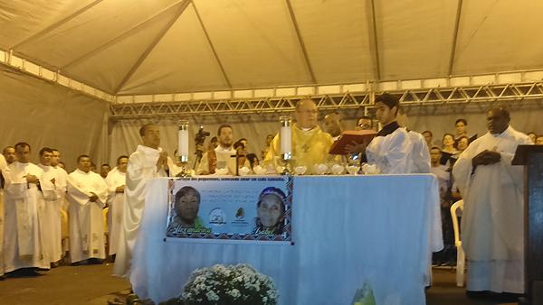 Dom Edson preside Missa que recorda os 515 da primeira celebração eucarística no Brasil / Foto: