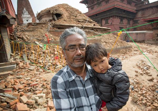 Terremoto devastou o país e deixou milhares de desabrigados / foto: Caritas Autrália