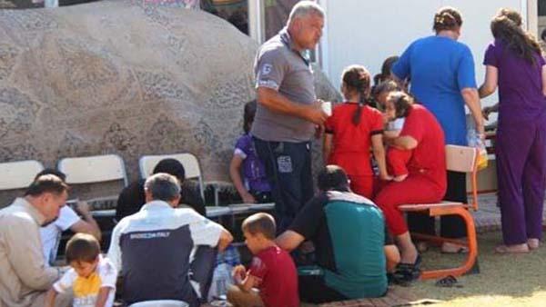 Refugiados têm moradia provisória e futuro incerto / Foto: Arquivo - Fundação AIS