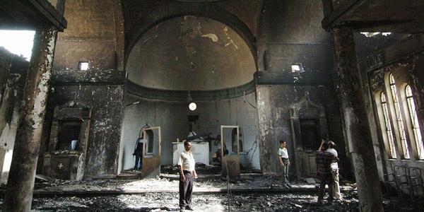 Igrejas e locais de culto destruídos; cristãos são perseguidos em várias partes do mundo por causa de sua fé / Foto: Arquivo - AIS
