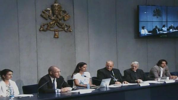 Evento foi apresentado nesta quarta-feira, 15, no Vaticano / Foto: Reprodução CTV