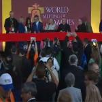 Cerimônia especial dá início ao Encontro Mundial das Famílias