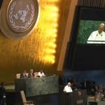 Papa na ONU: cuidado com o Meio Ambiente e luta pelos excluídos