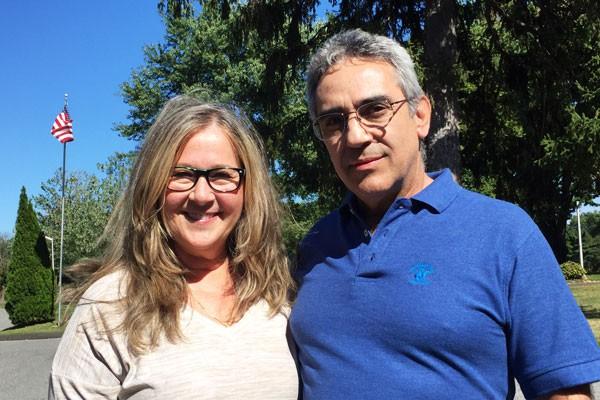 Brasileiros Marioli e Nilson Marques são de Lyndhurst, Nova Jersey e trabalham na Pastoral Familiar . Foto: Rodrigo Luiz / cancaonova.com