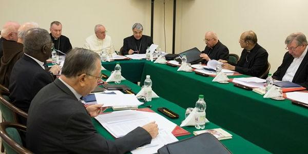 Papa reunido com Conselho dos Cardeais esta semana/ Fonte: L'Osservatore Romano