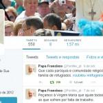 No Twitter, Papa reforça pedido de acolhimento dos refugiados