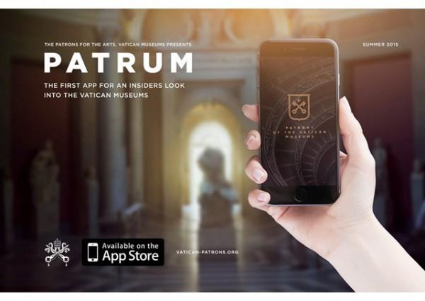 Museus Vaticanos lançam App Patrum/ Fonte: Divulgação