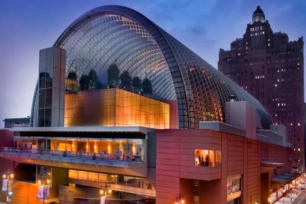 Centro Kimmel, onde acontece o Festival de Filmes do Encontro Mundial das Famílias, na Filadélfia./ Fonte: site oficial do evento.