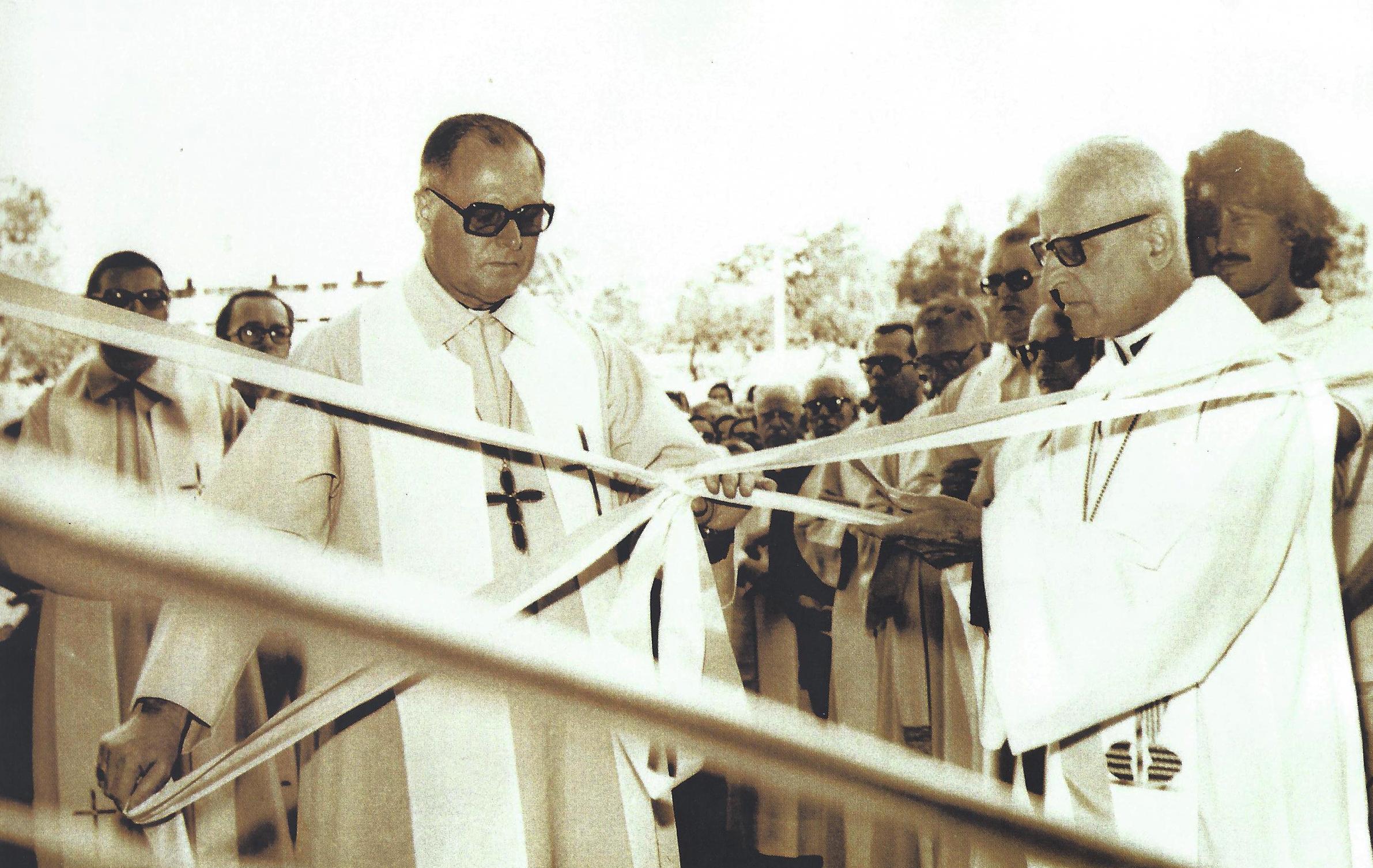 Cerimônia de abertura da CNBB foi realizada no dia 14 de outubro de 1952 / Foto: Arquivo CNBB