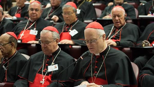 Cardeais reunidos durante o Sínodo/ Foto: L'Osservatore Romano