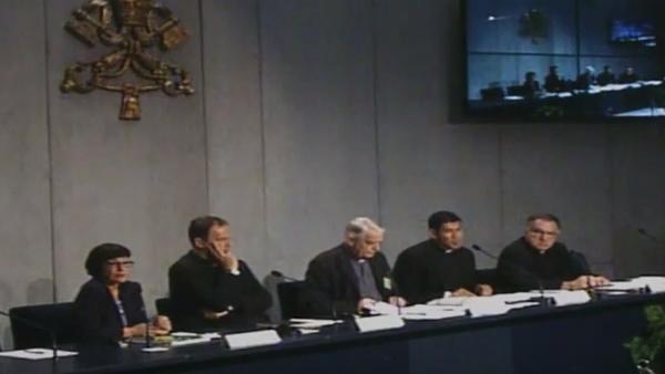 Coletiva no Vaticano informa andamento do Sínodo / Foto: Reprodução CTV