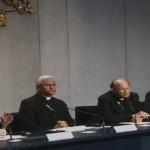 Coletiva informou andamento da redação do documento final do Sínodo  / Foto: Reprodução CTV