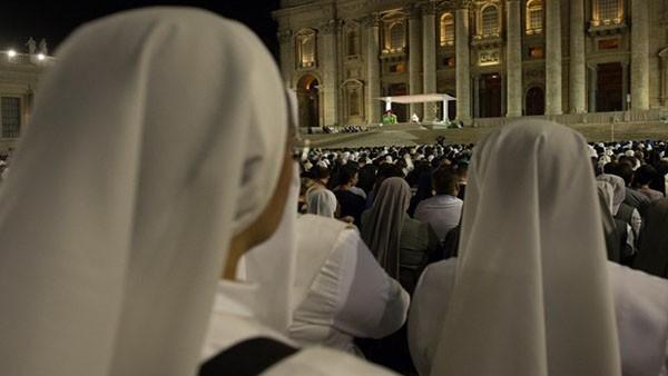 Vigília em preparação para o Sínodo acontece neste sábado, 03./ Foto: Arquivo Rádio Vaticano.