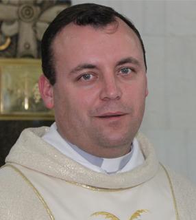 Padre Leandro da Silva, reitor do Santuário da Divina Misericórdia em Curitiba / Foto: Arquivo Pessoal