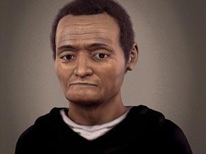 Rosto de São Martín de Porres, reconstruído por técnica 3D / Fonte: Rádio Vaticano