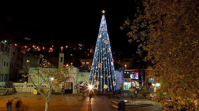 Cristãos iniciam preparativos para o Natal na Terra Santa