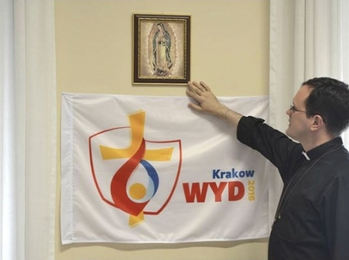 responsável pelo setor Juventude do Pontifício Conselho para os Leigos, em Roma, padre João Chagas / Foto: Rádio Vaticano