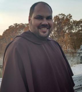 Frei Alexandre, Confessor em igreja de Roma / Foto: Catarina Jatobá