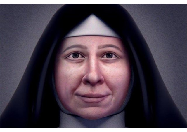 Novas feições de Santa Paulina, agora em 3D / Foto: Rádio Vaticano